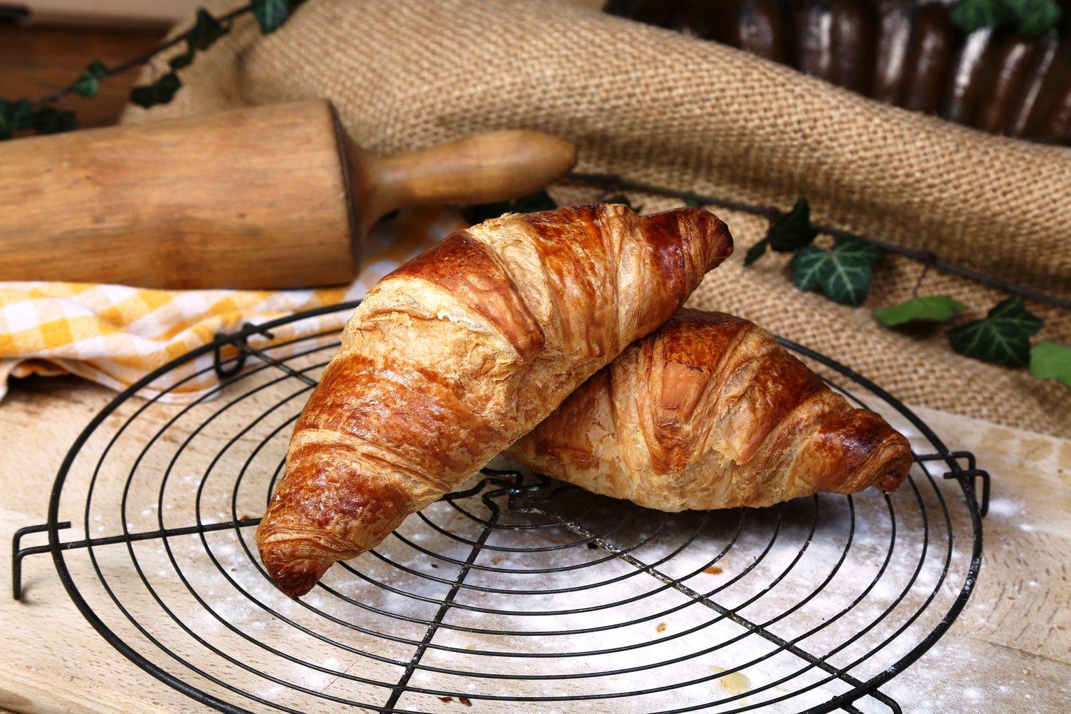 Croissant s maslacem i kremom od marelice 75g