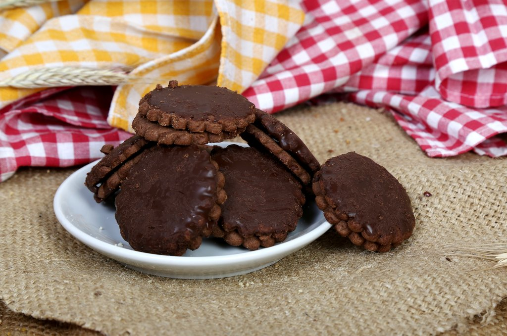Tortice s okusom čokolade 250g